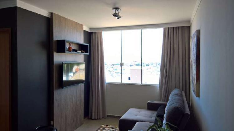 Apartamento cobertura decorada 3 domitórios c/ suíte