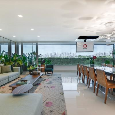 Apartamento no setor marista com 244 e 362 m² com opção