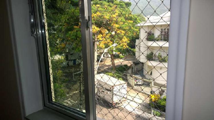 Apto sala 2 quartos amplo - rua grajaú