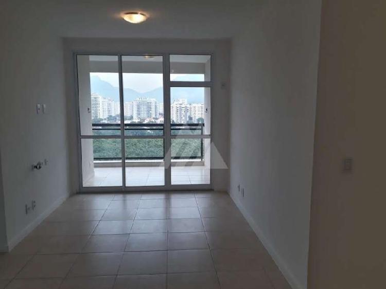 Barra da tijuca | apartamento 2 quartos, sendo 1 suite