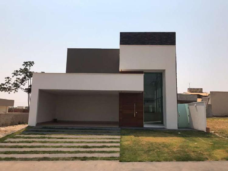 Casa de condomínio para venda tem 232 metros quadrados com
