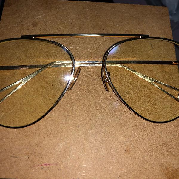 Armação óculos aviador de grau