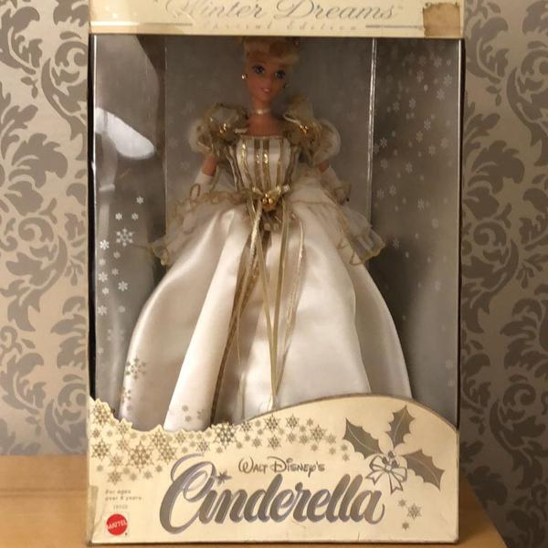 Barbie cinderella winter dreams 1997