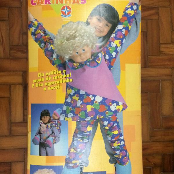 Boneca compi carinhas - estrela anos 90
