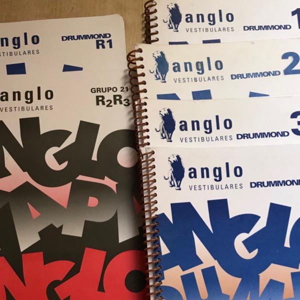 Cadernos de revisão e exercícios anglo vestibulares