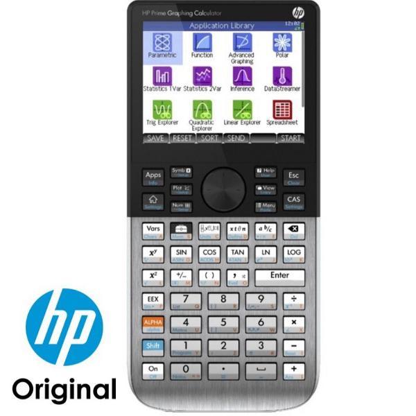 Calculadora gráfica hp prime tela touch pronta entrega