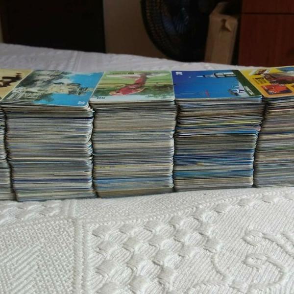 Cartões telefônicos (+1000)