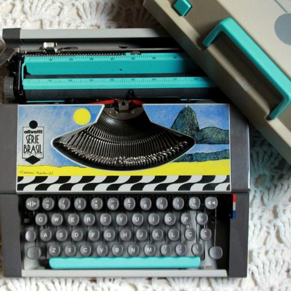 Decoraçao__máquina de escrever / datilografia série