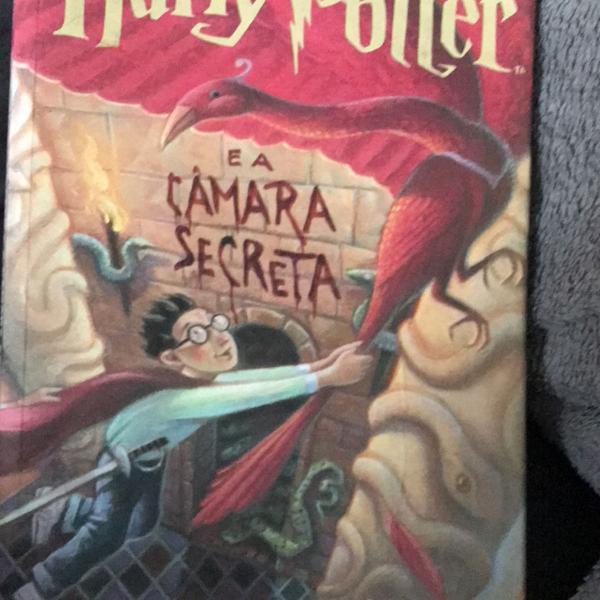 Livro harry potter câmara secreta