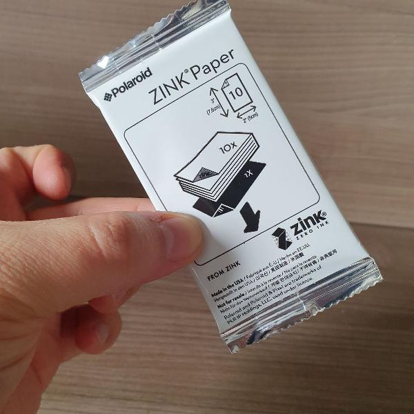 Pack com 10 papeis para fotos digitais em impressoras