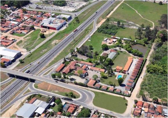 Rea de 35,262 m² na margem da rodovia presidente dutra
