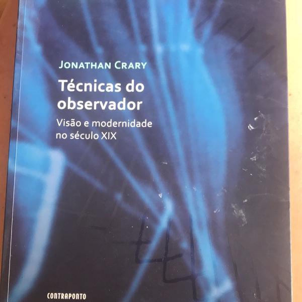 Técnicas do observador jonathan crary