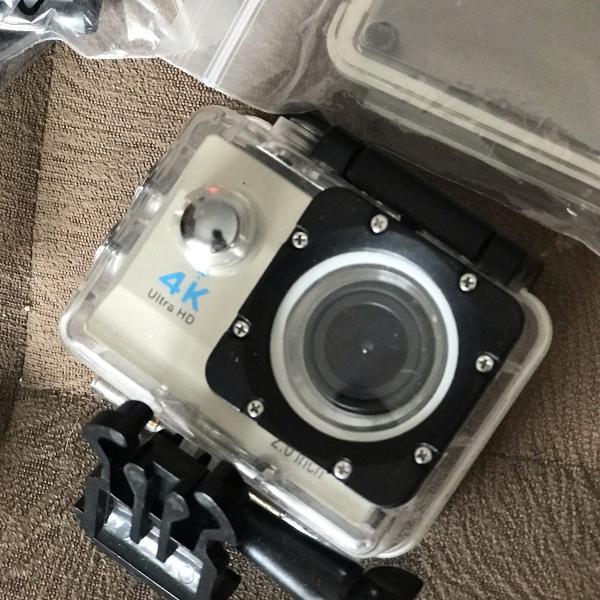 Ultra câmera action go pro sports 4k wifi prova d'água