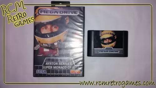 Ayrton Senna Monaco Gp Ii Original - Mega Drive / Genesis