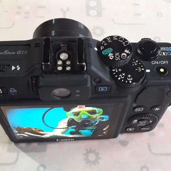 Canon powershot g15 - câmera digital compacta super premium