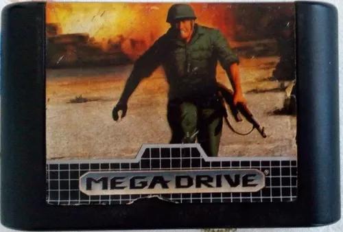 Cartucho mega drive jogo fita crossfire cross fire tec toy