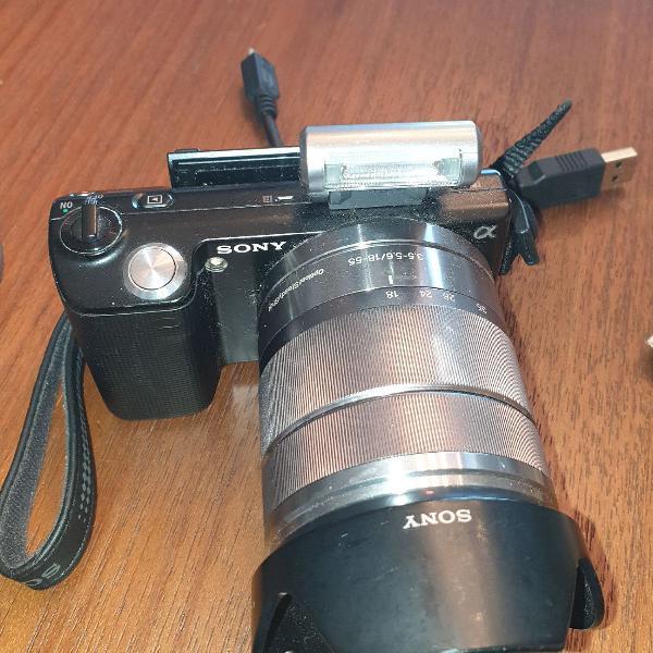 Câmera sony nex 5