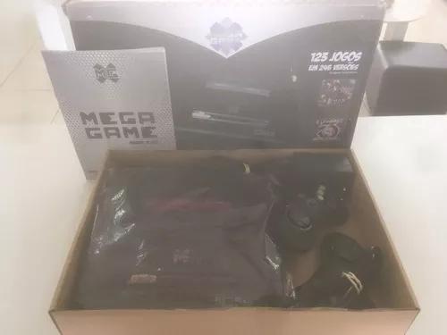 Console mega game 123 jogos usado compatível com mega drive