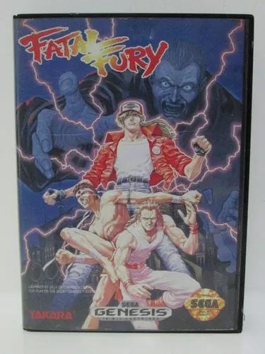 Fatal fury - game mega drive original ótimo estado