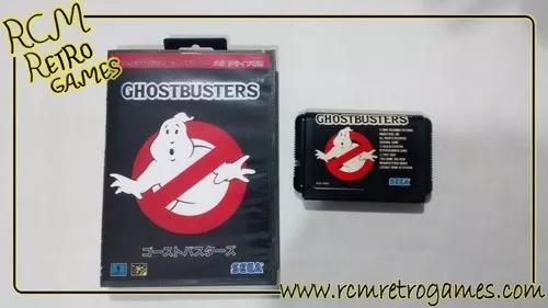 Ghostbusters mega drive genesis original japonês