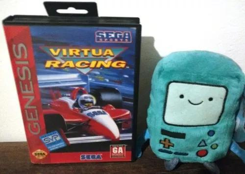 Jogo virtua racing original completo americano mega drive