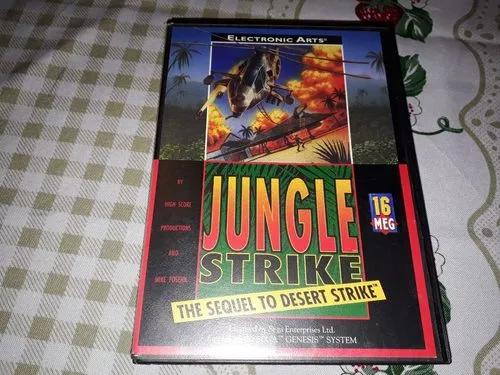 Jugle strike 100% original completo sega mega drive genesis