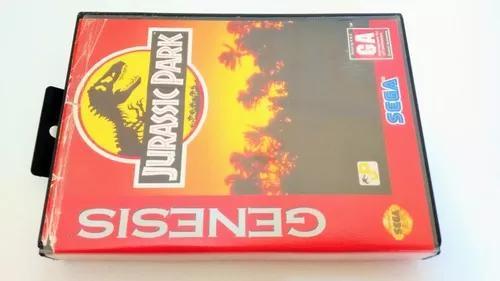 Jurassic park mega drive genesis original americano
