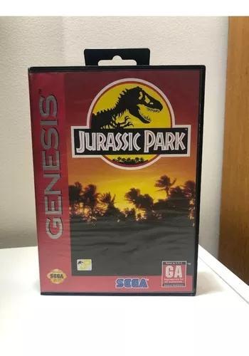 Jurassic park original sega genesis/mega drive completo