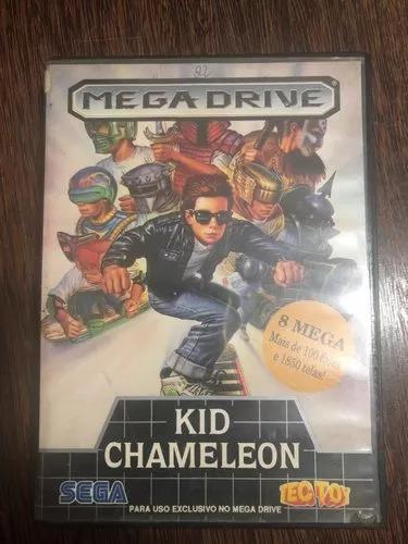 Kid chameleon mega drive tectoy