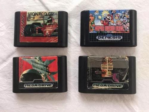 Lote 3 jogos mig-19 monaco technoclash mega drive originais