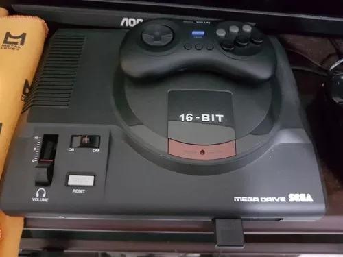 Mega drive c/ kit hdmi com 1700 jogos,controle s