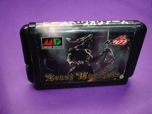 Mega drive japones: beast warriors original jp