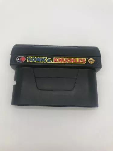 Mega drive jogo sonic knuckles - original- sega