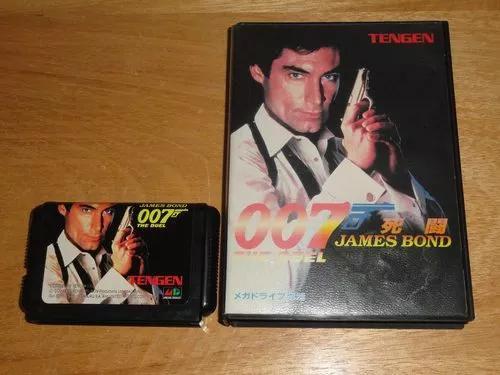 Mega drive sega 007 the duel james bond original japones