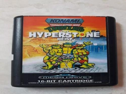 Mega drive sega teenage mutant ninja turtles the hyperstone