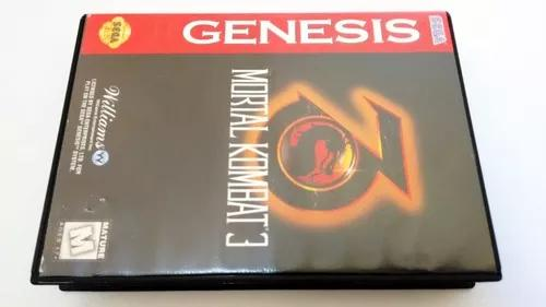 Mortal kombat 3 mega drive genesis original americano