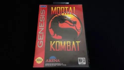 Mortal kombat arena mega drive genesis original americano