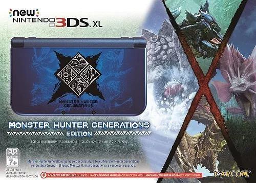 New 3ds xl monster hunter generation usado