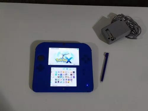 Nintendo 2ds desbloqueado 32gb lindo com muitos jogos 3d