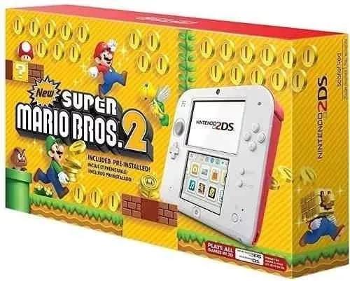Nintendo 2ds + jogo mario bros 2 + nota fiscal