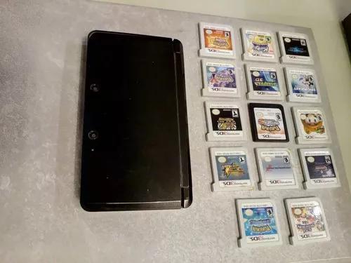 Nintendo 3ds + 14 jogos! frete grátis!