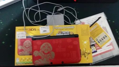 Nintendo 3ds edição limitada super mario bros 2