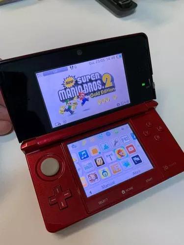Nintendo 3ds vermelho/flame *baixei o preço, tá muito