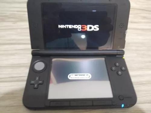 Nintendo 3ds xl azul 32 gb original com 4 jogos