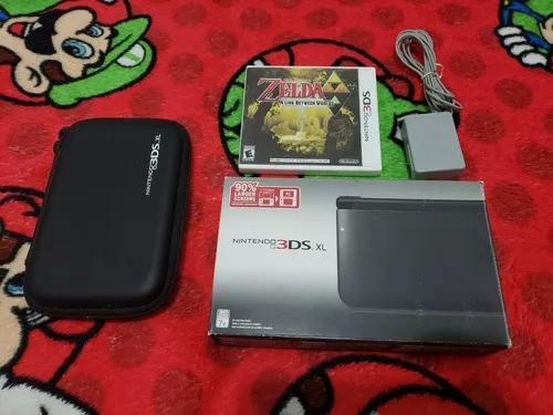 Nintendo 3ds xl completo, nota fiscal e os ar cards lacrados