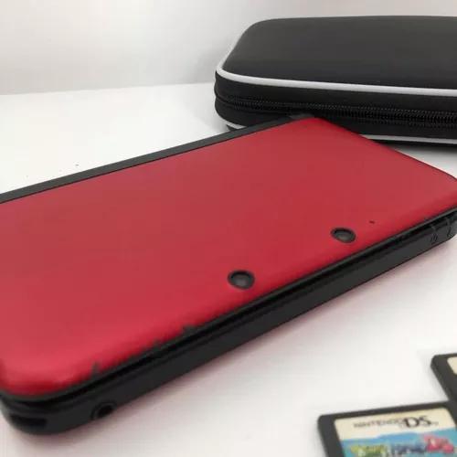Nintendo 3ds xl vermelho