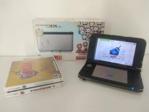 Nintendo 3ds Xl+ Zelda + Pokémon 32gb Impecável