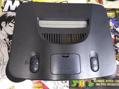 Nintendo 64 + controle 100% (gamecube) + starfox 64