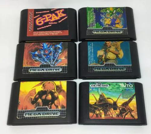 Pacote mega drive - truxton, paperboy, altered beast tectoy
