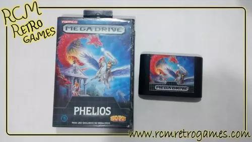 Phelios mega drive genesis original